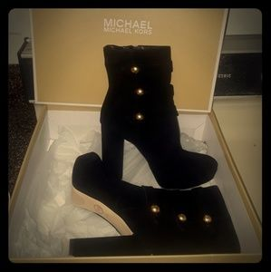 Michael Kors Black Ankle Boots